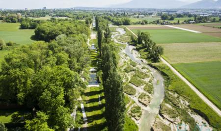 Uno o più letti del fiume. La buona pratica di Rinaturazione del fiume Aire.