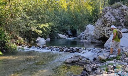 Zaino in spalla il 17 luglio e il 7 agosto con le esplorazioni fluviali del Cdf.